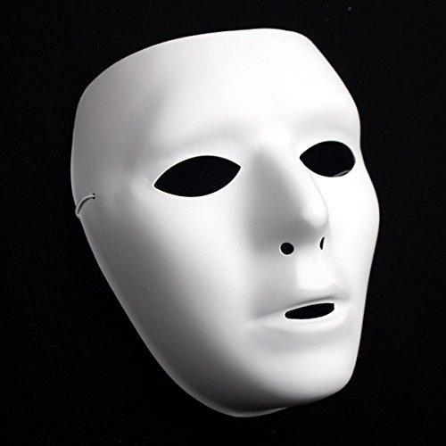JenNiFer Hip-Hop-Männer Face Maskenmaskenfeier Party Halloween Masken - Die Frau