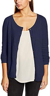 Vero Moda Vmcare Structure Ls O-neck Cardigan Noos - Jersey de punto Mujer