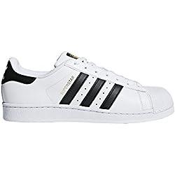 adidas Originals Superstar, Zapatillas Unisex Adulto, Blanco (FTWR White/Core Black/FTWR White 0), 40 EU