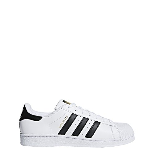 adidas  Superstar Foundation, Scarpe da Ginnastica Basse Unisex - Adulto, Bianco (Ftwr White/Core Black/Ftwr White), 40 EU