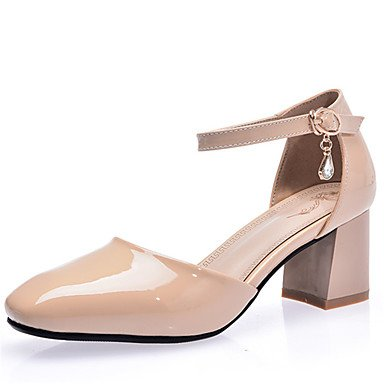 Zormey Frauen Schuhe Ferse Quadratische Spitze Knöchelriemen Pumpe Mit Strasssteinen Mehr Farbe Verfügbar US6 / EU36 / UK4 / CN36
