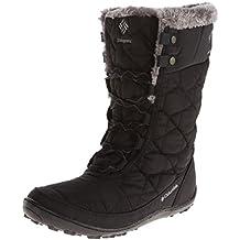 Columbia Minx Mid II Omni-Heat, Chaussures Multisport Outdoor femme, Noir (010), 41 EU (8 UK)