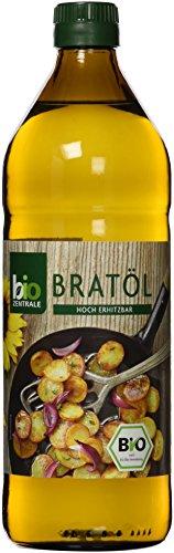biozentrale Bratöl hocherhitzbar Bio Vegan, 3er Pack (3 x 750 - Frittieröl