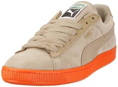 Puma Suede Classic Eco 352634, Herren Sneaker, Braun (plaza taupe-kelp beige-vermillion orange 35), EU 36 (UK 3.5) (US 4.5)