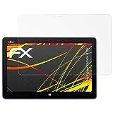 atFolix Folie für Fujitsu Stylistic R727 Displayschutzfolie - 2 x FX-Antireflex-HD hochauflösende entspiegelnde Schutzfolie
