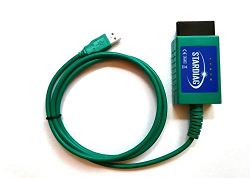 Stardiag Diagnosegerät USB Interface CAN327 FTDI CANBUS Verbindung Modifiziert Multimarken PKW für Carport Diagnose Multiecuscan Alfaobd WBH-Diag Speed-Test