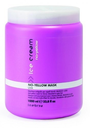Desconocido Inebrya Anti-Yellow Mask FOR Blonde, Bleached OR