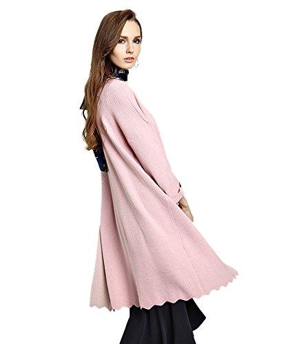 Insun - Gilet - Femme Taille Unique Rose