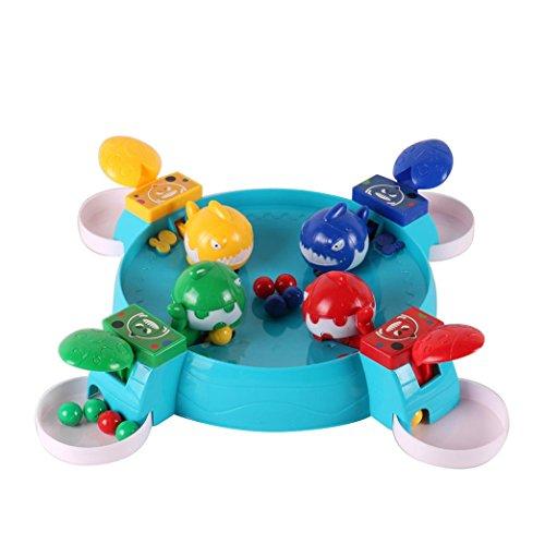 rig vier shark kreative desktop toys interaktives spaß brettspiel für kinder (A) (Hai Kostüm Essen)