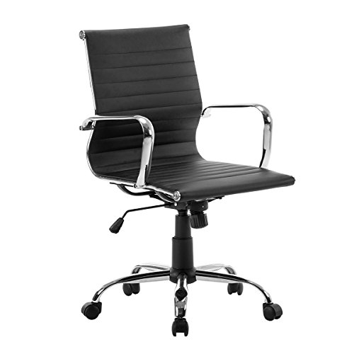 FurnitureR sedia da ufficio ergonomica girevole regolabile ...