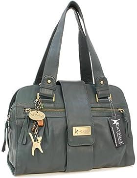 Handtasche - Leder - Zara von Catwalk Collection - GRÖßE: B: 32.5 H: 23 T: 13 cm