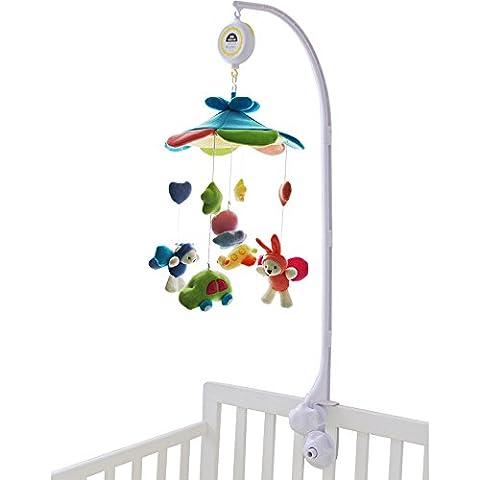 SHILOH Baby Crib Musical Mobile 60 Tunes Blue Sky Castle