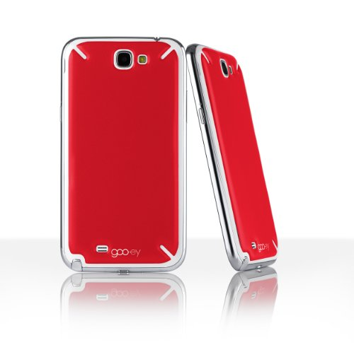 Goo.ey Coque pour Samsung Galaxy Note 2 rouge