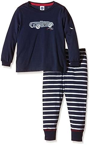 Sanetta Jungen Zweiteiliger Schlafanzug 231768, Gr. 140, Blau (classic blue 5968)