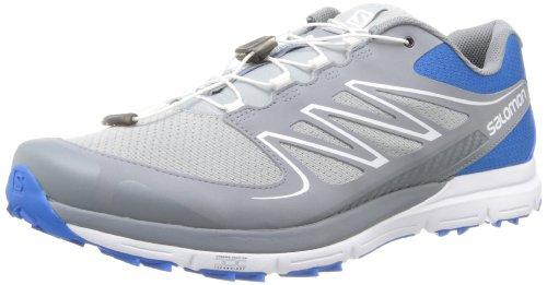 Salomon Men's Sense Grey Mesh Running Shoes (L36211600)-UK 11  available at amazon for Rs.2879