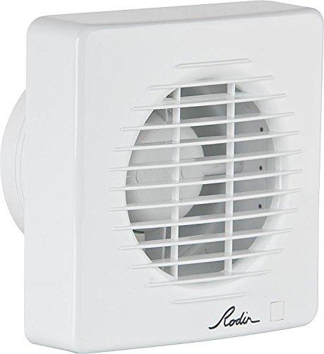 Kleinraumventilator / WC-Lüfter NW 100 mit Nachlauf - - Entlüftungs-ventilator