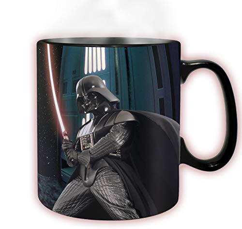 ABYstyle Star Wars Tasse Darth Vader Farbwechsel bei Temperaturanstieg, für Erwachsene, ABYMUG294 -