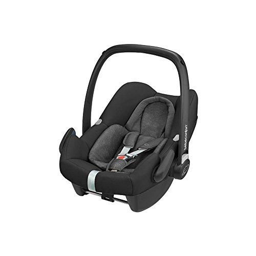 Bébé Confort Cosi Rock i-Size, Siège Auto Bébé Groupe 0+, ISOFIX, Dos à la route, Naissance à 12 mois (0-13 kg), Nomad Black
