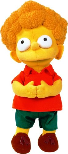 United Labels 1000395 Los Simpson - Peluche de Rod (30 cm) 1