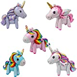 MissGood in Piedi Unicorno Palloncini Foil Balloon Toys Matrimonio Compleanno Decorazione Festa Bambini Regalo per Bambini Stile di 5