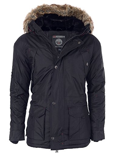 Geographical Norway -  Giacca - Parka - Basic - Maniche lunghe  - Uomo Dunkelblau