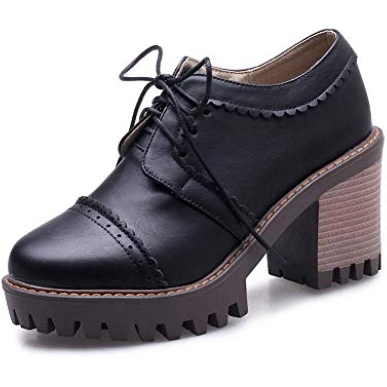 AdeeSu SDC05787, Plateforme Femme - Noir - Noir, 36.5 36.5 36.5 - B07GYWXCGS - 335b93