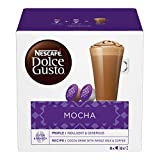NESCAFÉ DOLCE GUSTO Mocha Cioccolata al Caffè, 3 Confezioni da 16 Capsule (48 Capsule)