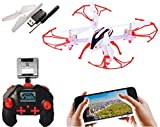 SUPER TOY Wi-Fi HD Camera Drone Remote Control 360 Roll Quadcopter - Multicolor