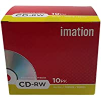 Imation - CDRW 4-12X 10-pack Retail showbox - MTV