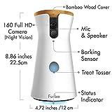 Furbo Hundekamera: Full HD WiFi Haustierkamera mit Leckerli Ausgabe, 2-Wege-Audio und Bell-Alarm (bekannt aus VOX hundkatzemaus) - 2