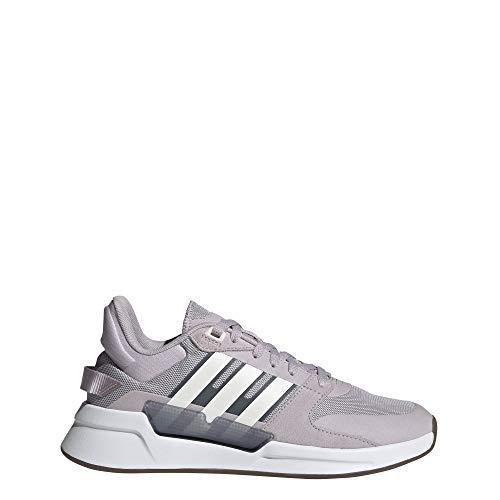 adidas Damen Run90s Laufschuhe, Malva/Ftwbla/Onix, 37 1/3 EU
