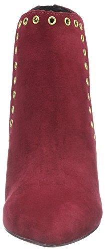 Stivali Rossi Da Donna La Strada Bordeaux Rosso Scamosciato (2231 - Micro Bordeaux)