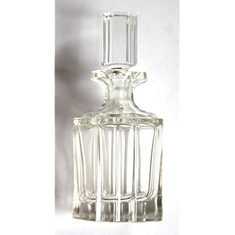 Antiquariato - piccola caraffa di cristallo per Rum o anche profumi