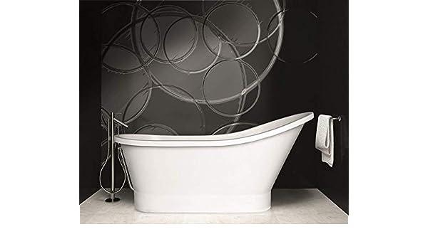 Vasca Da Bagno Lunghezza 150 Cm : Freestanding vasca da bagno in ghisa minerale  cm