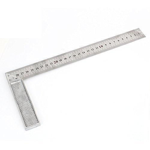 Sourcingmap a14092300ux0311 - Metallo angolo di 90 gradi metrica 30cm graduazioni della scala cercano righello