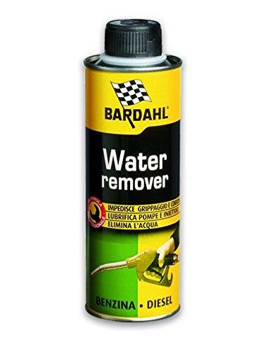 Bardahl 1087901 Water Remover Additivi Elimina Acqua nel Carburante per Motori Benzina Diesel, 300 m