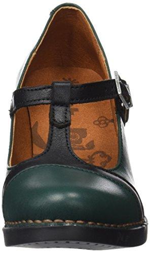 Art Damen Harlem Kurzschaft Stiefel Grün (Star Petroleo-black)