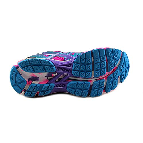Asics Gel-Kayano 19 Synthétique Chaussure de Course Flash Pink-Grape-White