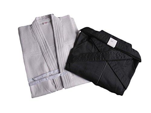 Zooboo Martial-Arts-Uniform für Herren, Kendo/Aikido/Keikogi/Hakama mehrfarbig - weiß / schwarz
