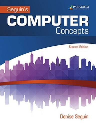 Computer Concepts & Microsoft Office 2016: Text (Seguin) by Denise Seguin (2016-05-30)