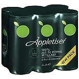 Appletiser Fruchtsaft mit Kohlensäure 4 Pack á 6 x 0,25l Dose IMPORT (24 Dosen eingeschweißt)