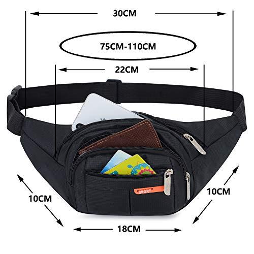 417quDkliXL. SS500  - AirZyx Bumbags and Fanny Packs for Running Hiking Waist Bag Outdoor Sport Hiking Waistpack for Women Men