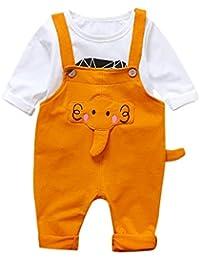 Amazon.es  camiseta termica - Amarillo   Conjuntos   Niñas de hasta ... bccbd73a6fdd5