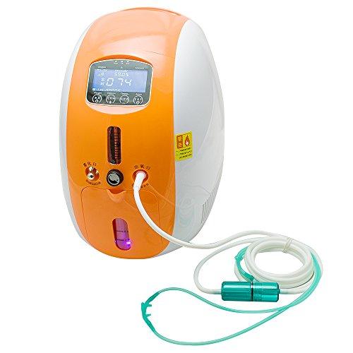 Preisvergleich Produktbild Genmine 2L Tragbarer Sauerstoffkonzentrator Sauerstoffgerät Oxygen Concentrator
