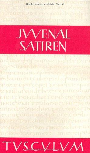 Satiren (Sammlung Tusculum)
