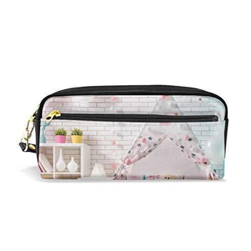 Bär, Seestern, Mond Kosmetiktaschen Federmäppchen Portable Travel Makeup Organizer Multifunktions-Tasche Taschen für Frauen - Fitnessstudio Bars Billig