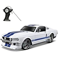 Maisto R/C1:24 Scale 1967 Ford Mustang Gt Radio Control Vehicle White