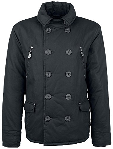 Black Premium by EMP Double-Breasted Jacket Giacca nero S