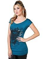 KRISP® Femme T-shirt Imprimé Tête De Mort