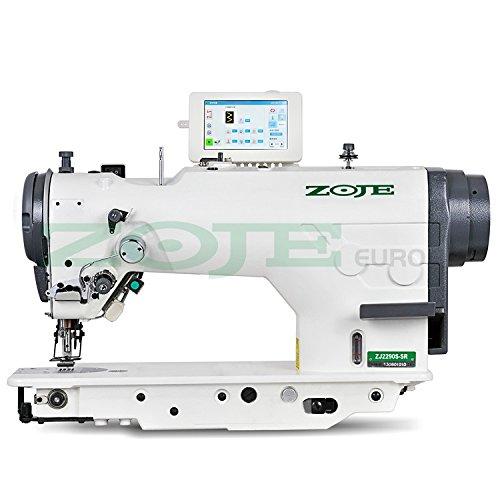 ZOJE de la Industria de Coser-Zigzag y Puntada Recta-Completamente Automático-La Industria Máquina de Coser industriales-Completo (con Mesa y Estructura)
